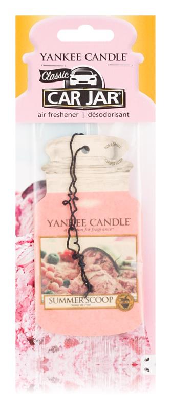 Yankee Candle Summer Scoop vonná auto visačka