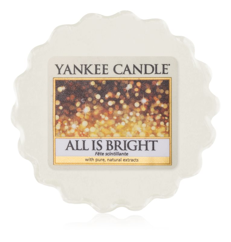Yankee Candle All is Bright cera per lampada aromatica 22 g