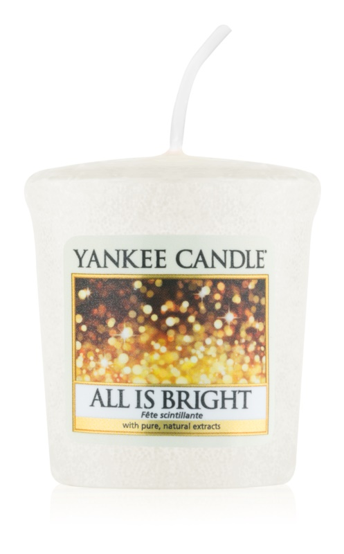 Yankee Candle All is Bright candela votiva 49 g