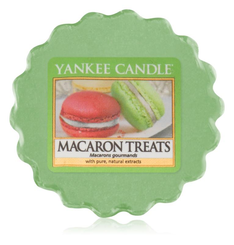 Yankee Candle Macaron Treats Wachs für Aromalampen 22 g