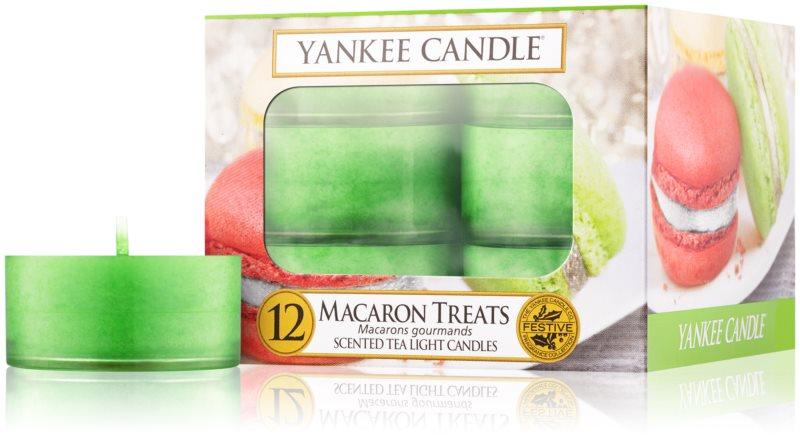 Yankee Candle Macaron Treats čajová svíčka 12 ks