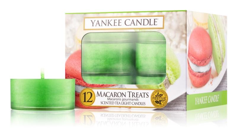 Yankee Candle Macaron Treats vela de té 12 ud
