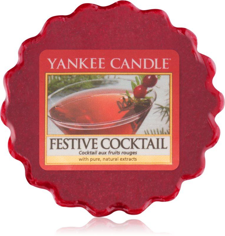 Yankee Candle Festive Cocktail cera para lámparas aromáticas 22 g