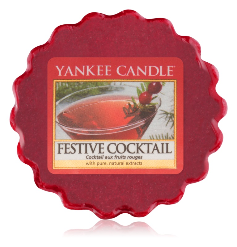 Yankee Candle Festive Cocktail Duftwachs für Aromalampe 22 g