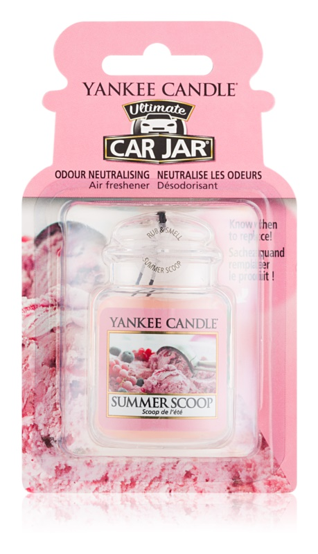 Yankee Candle Summer Scoop parfum pentru masina