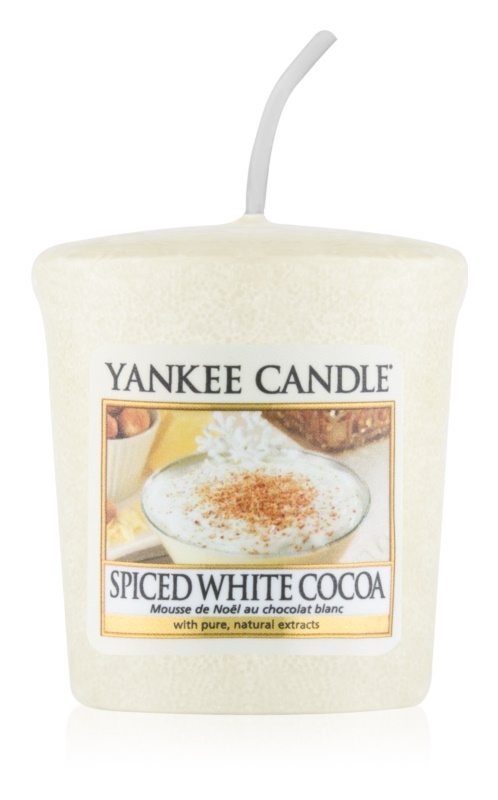 Yankee Candle Spiced White Cocoa lumânare votiv 49 g