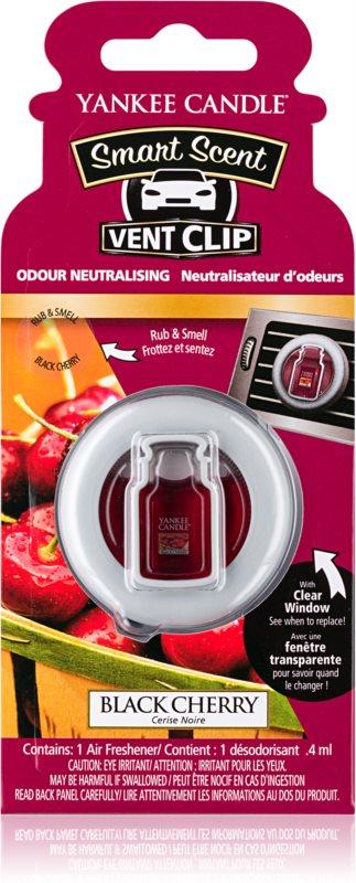 Yankee Candle Black Cherry vôňa do auta 4 ml clip