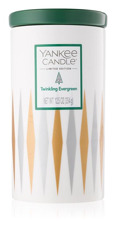 Yankee Candle Twinkling Evergreen lumânare parfumată  354 g