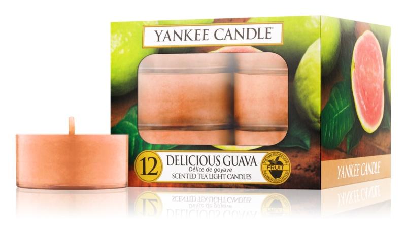Yankee Candle Delicious Guava čajová sviečka