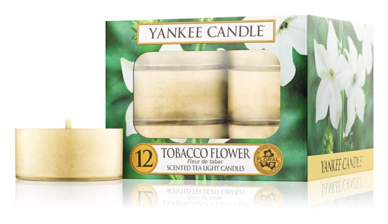 Yankee Candle Tobacco Flower čajová sviečka