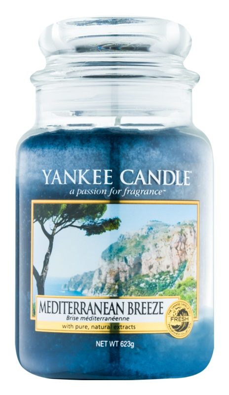 Yankee Candle Mediterranean Breeze Scented Candle 623 g Classic Large