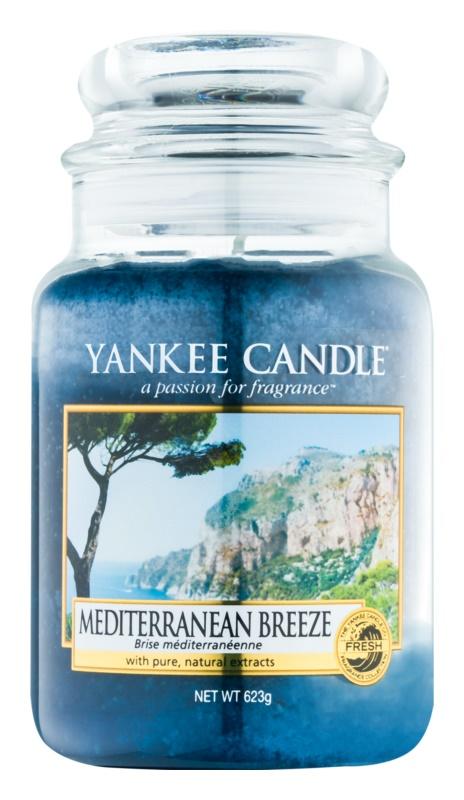 Yankee Candle Mediterranean Breeze vonná svíčka 623 g Classic velká