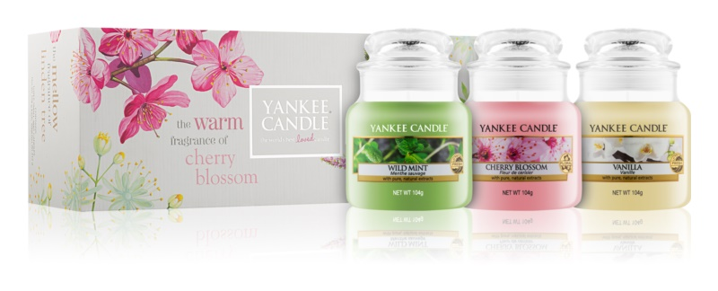 Yankee Candle Pure Essence Fragrance Gift Set    I.
