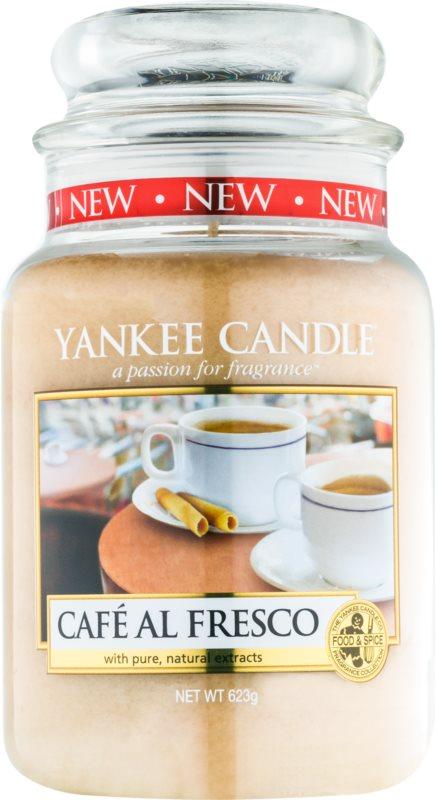 Yankee Candle Café Al Fresco bougie parfumée 623 g Classic grande