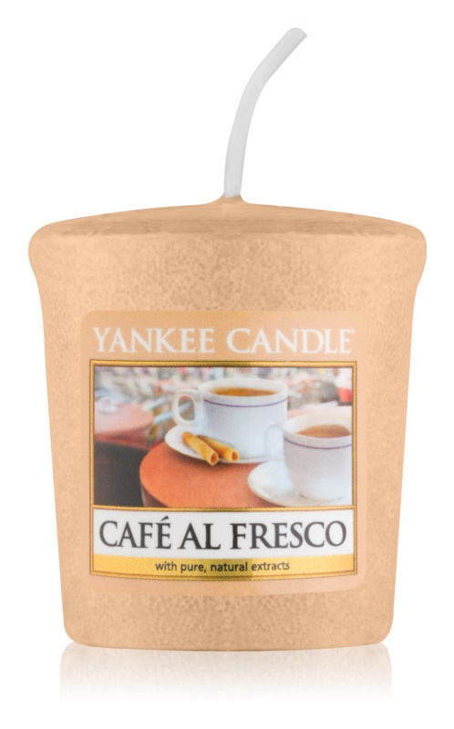 Yankee Candle Café Al Fresco mala mirisna svijeća 49 g