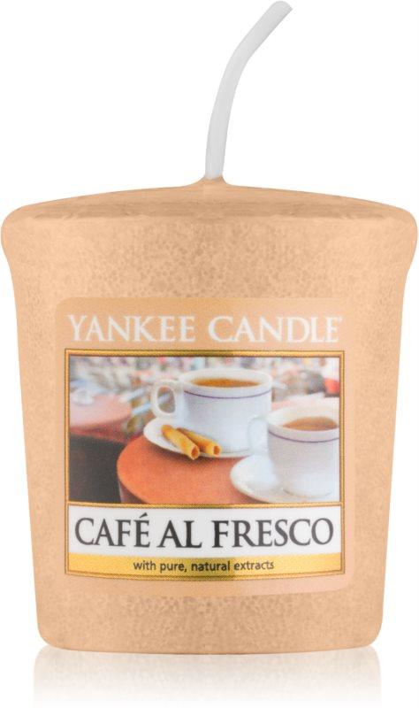 Yankee Candle Café Al Fresco viaszos gyertya 49 g