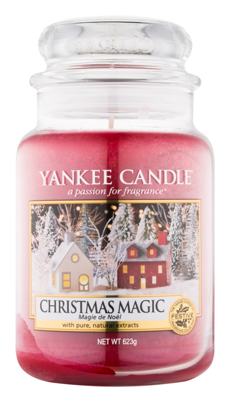 Yankee Candle Christmas Magic Scented Candle 623 g Classic Large