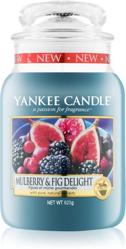 Yankee Candle Mulberry & Fig vonná sviečka 623 g Classic veľká