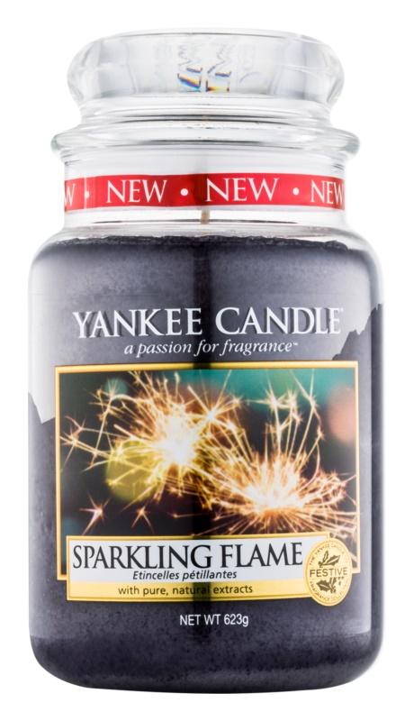 Yankee Candle Sparkling Flame dišeča sveča  623 g Classic velika
