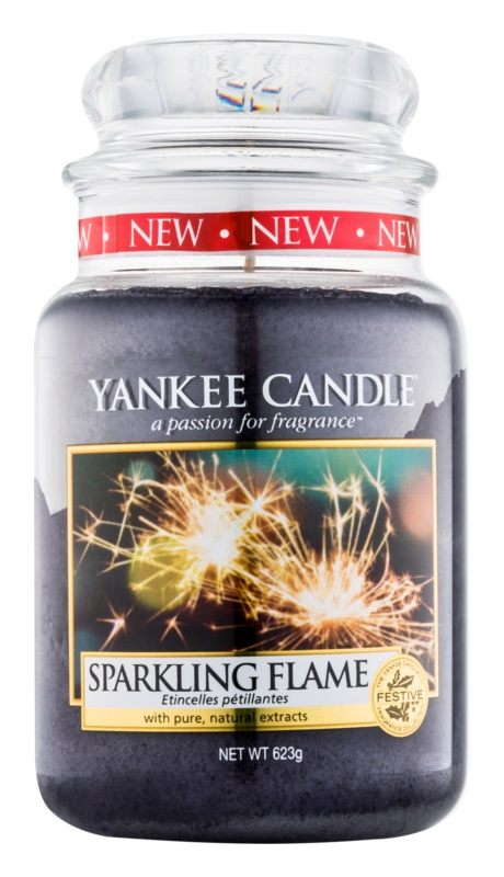 Yankee Candle Sparkling Flame Scented Candle 623 g Classic Large