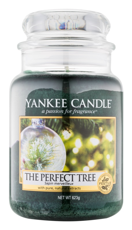 Yankee Candle The Perfect Tree vonná sviečka 623 g Classic veľká