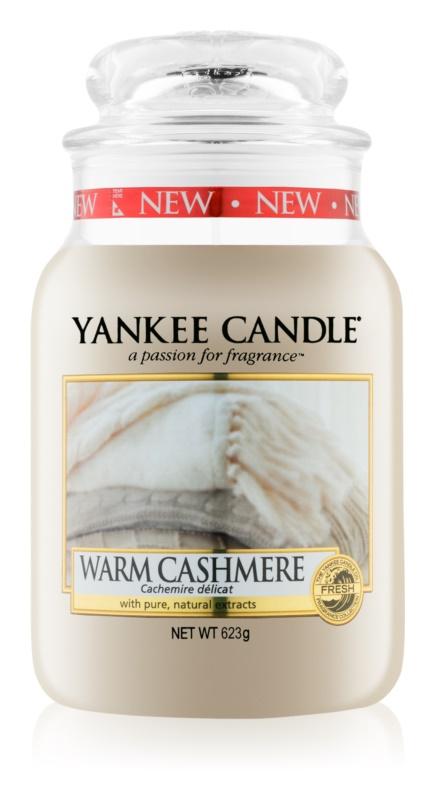 Yankee Candle Warm Cashmere Αρωματικό κερί 623 γρ Κλασικό μεγάλο