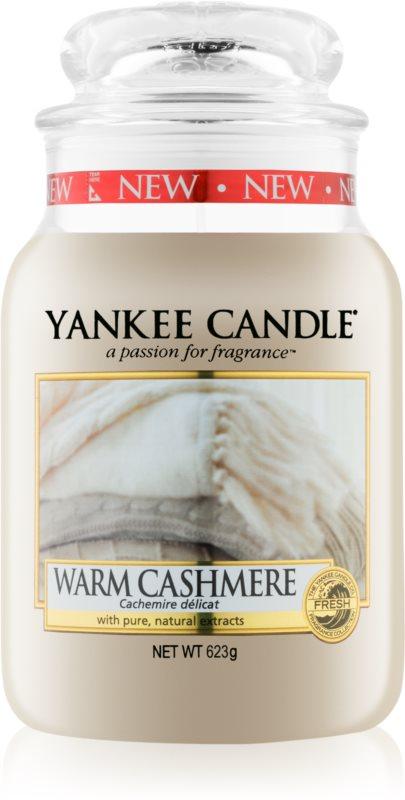 Yankee Candle Warm Cashmere vonná sviečka 623 g Classic veľká