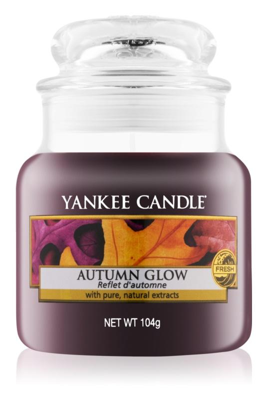 Yankee Candle Autumn Glow świeczka zapachowa  104 g Classic mała