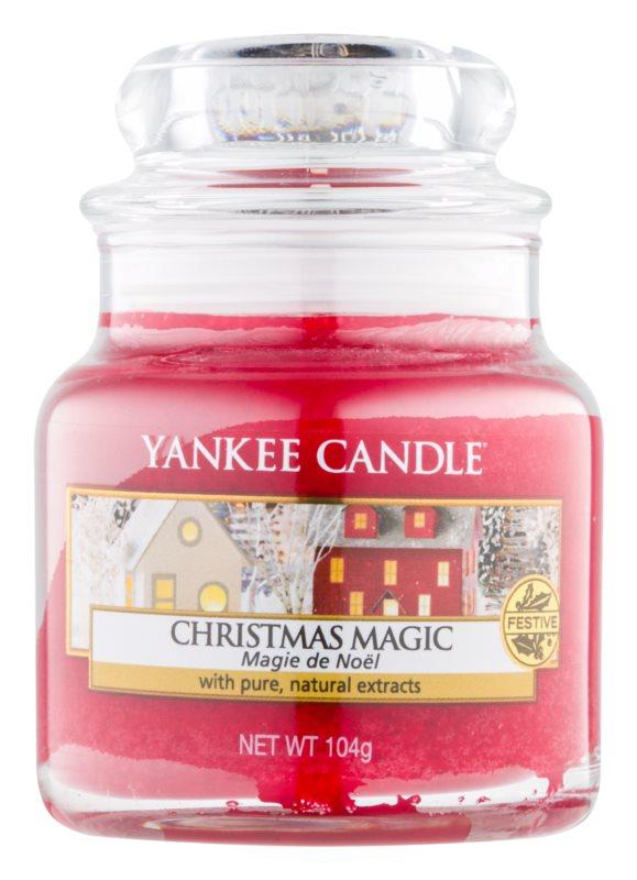 Yankee Candle Christmas Magic vonná sviečka 104 g Classic malá