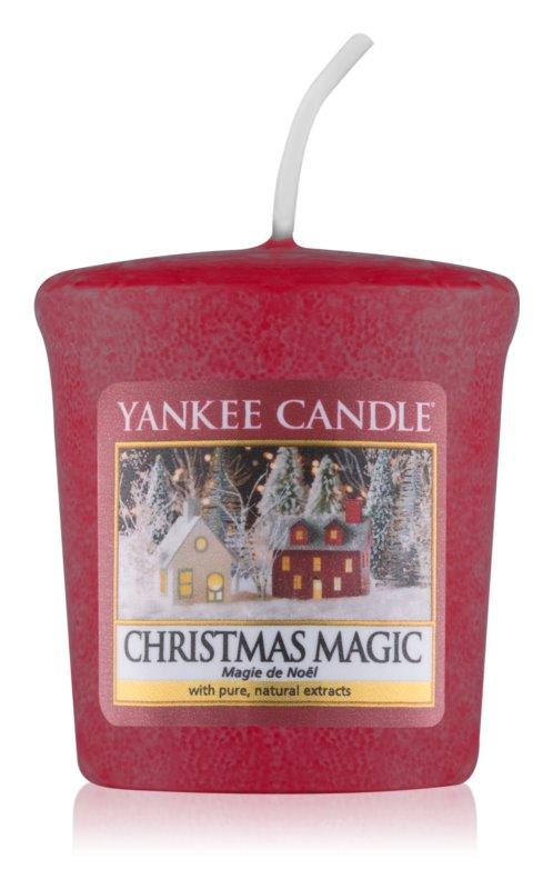 Yankee Candle Christmas Magic votivní svíčka 49 g