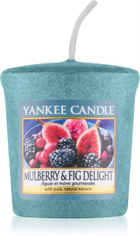 Yankee Candle Mulberry & Fig votívna sviečka 49 g