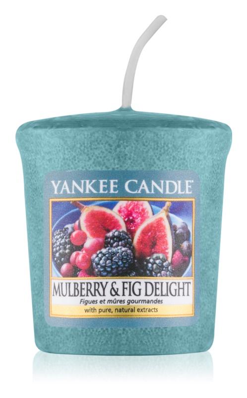 Yankee Candle Mulberry & Fig votivní svíčka 49 g