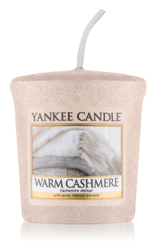 Yankee Candle Warm Cashmere вотивна свещ 49 гр.