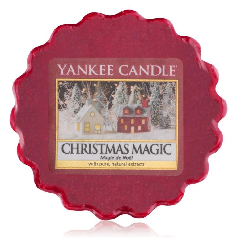 Yankee Candle Christmas Magic vosek za aroma lučko  22 g