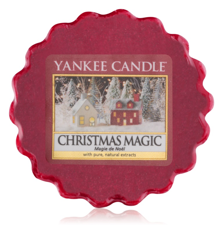 Yankee Candle Christmas Magic Wachs für Aromalampen 22 g
