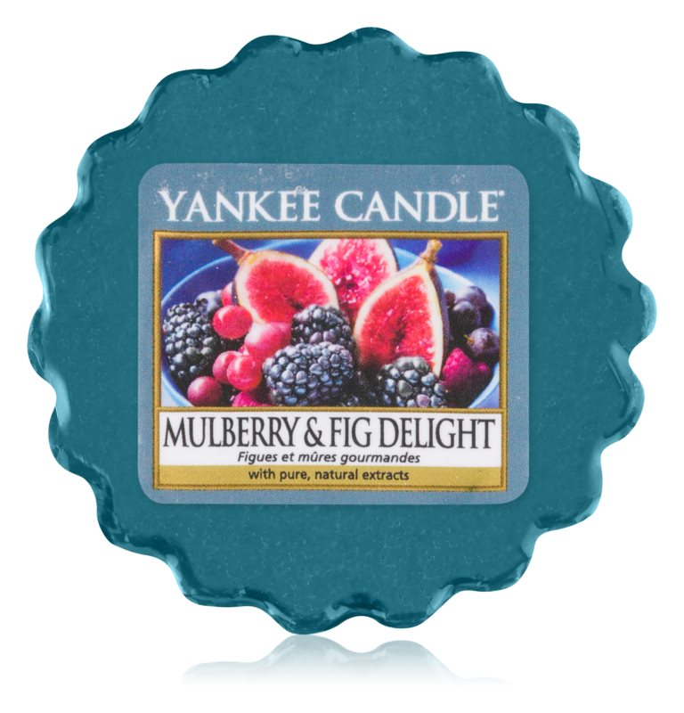 Yankee Candle Mulberry & Fig tartelette en cire 22 g