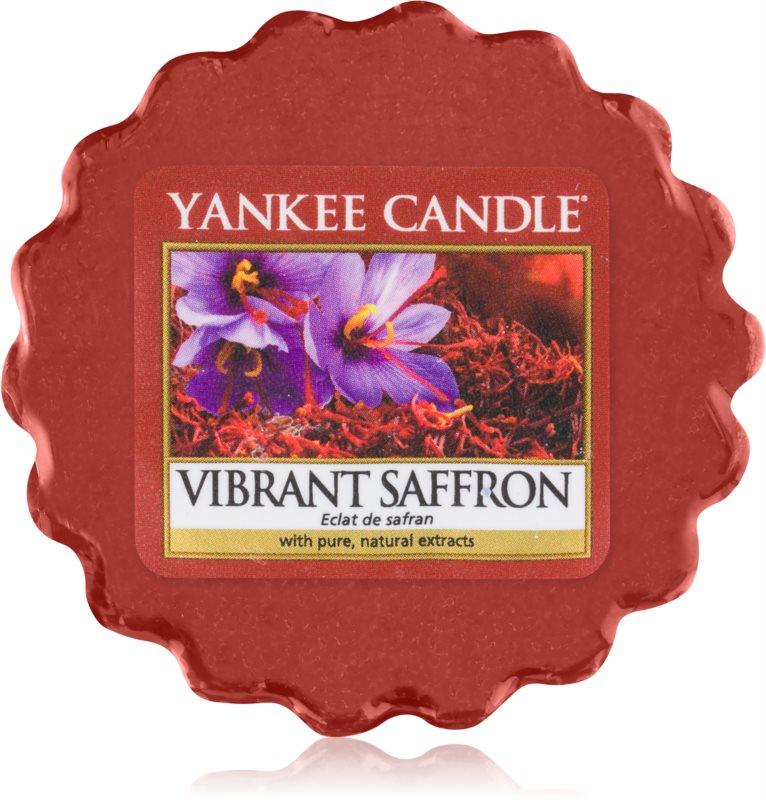 Yankee Candle Vibrant Saffron cera per lampada aromatica 22 g