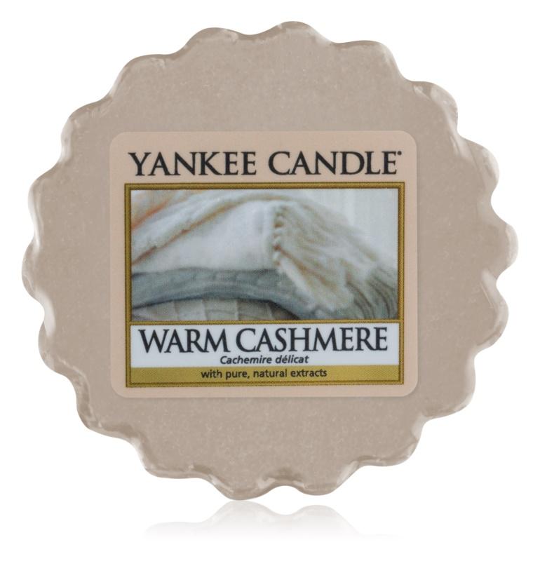 Yankee Candle Warm Cashmere κερί για αρωματική λάμπα 22 γρ