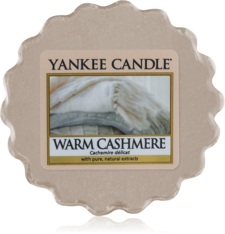 Yankee Candle Warm Cashmere Wachs für Aromalampen 22 g
