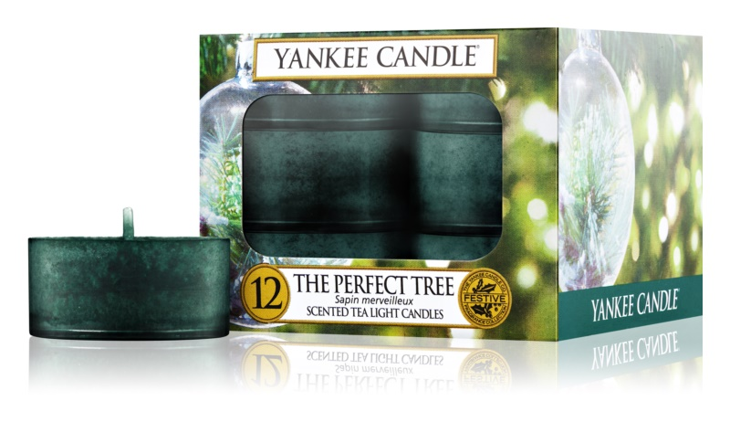 Yankee Candle The Perfect Tree bougie chauffe-plat 12 pcs