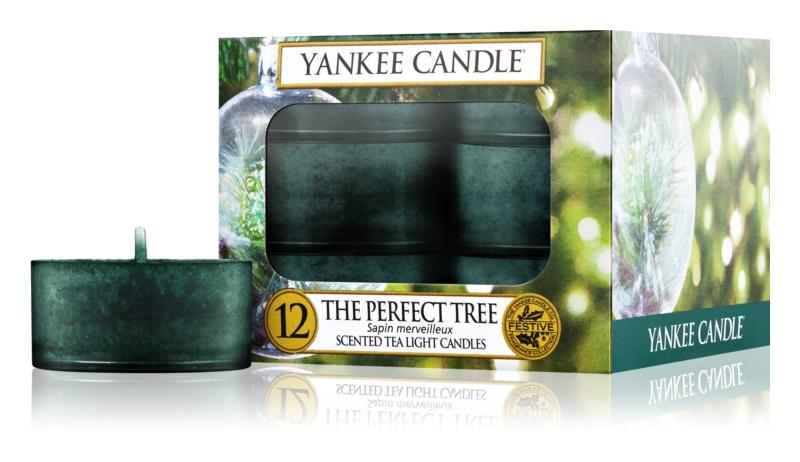 Yankee Candle The Perfect Tree čajová svíčka 12 ks