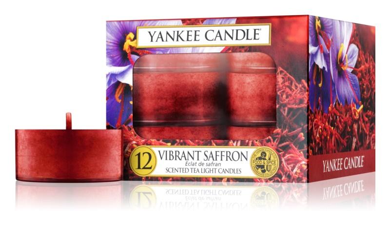 Yankee Candle Vibrant Saffron lumânare 12 buc