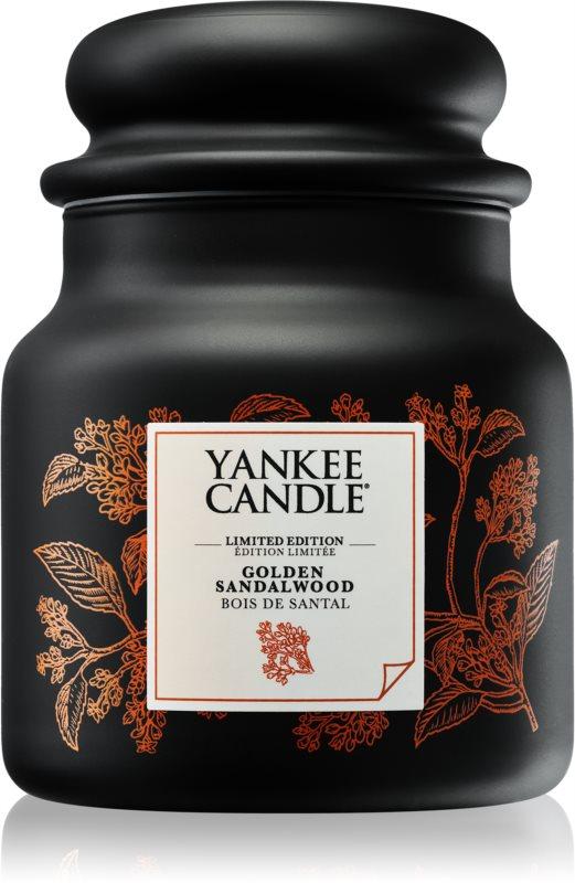Yankee Candle Golden Sandalwood świeczka zapachowa  410 g średnia