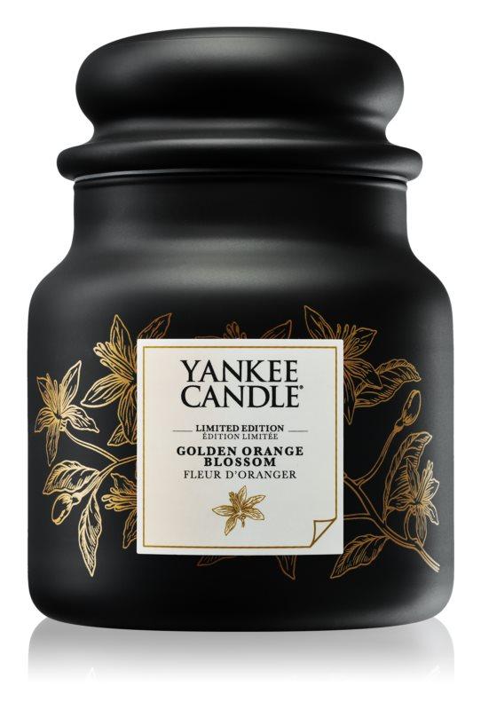 Yankee Candle Golden Orange Blossom vonná svíčka 410 g střední