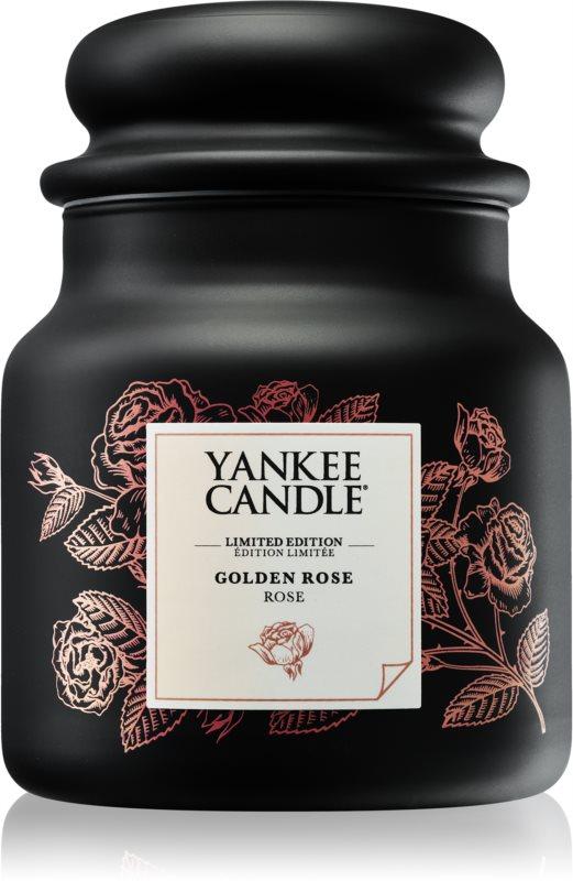 Yankee Candle Golden Rose lumanari parfumate  410 g mediu