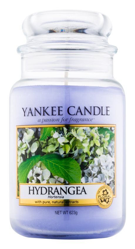 Yankee Candle Hydrangea świeczka zapachowa  623 g Classic duża