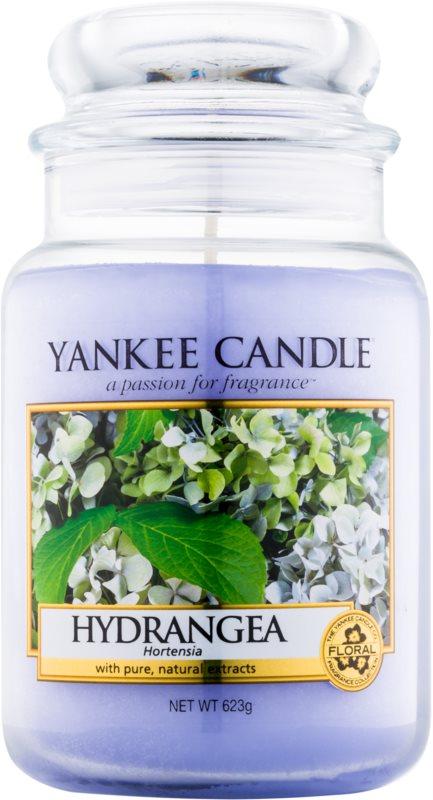 Yankee Candle Hydrangea vonná svíčka 623 g Classic velká