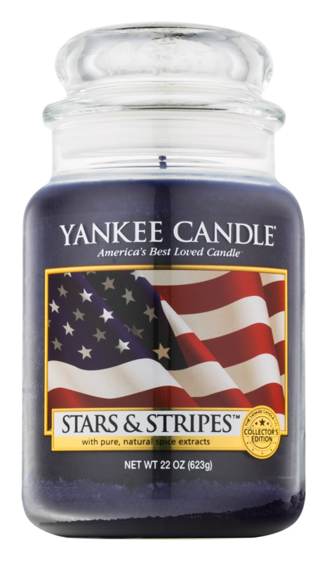 Yankee Candle Stars & Stripes bougie parfumée 623 g Classic grande