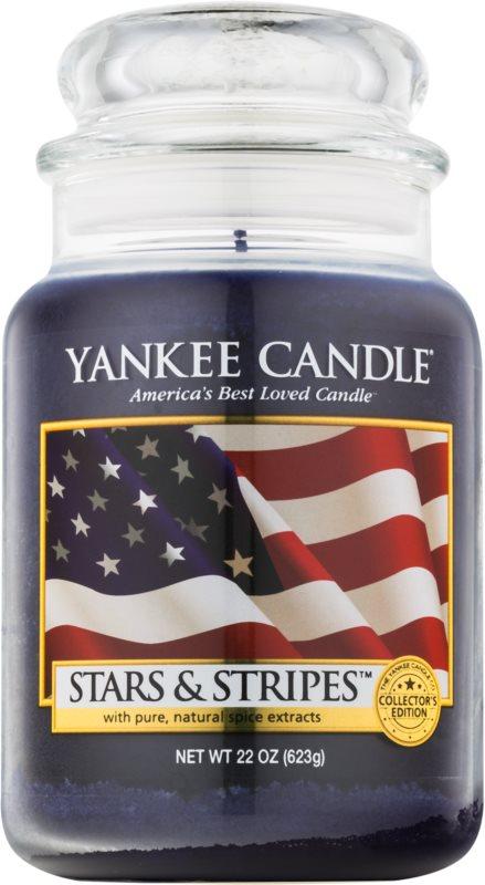 Yankee Candle Stars & Stripes vonná svíčka 623 g Classic velká