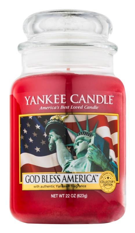 Yankee Candle God Bless America vonná svíčka 623 g Classic velká
